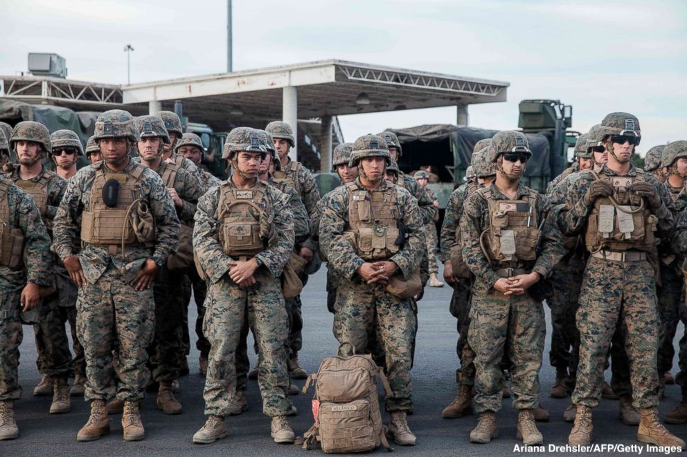 The U.S. Army might shift some troops assigned to Texas or Arizona to the border along California, where caravans of migrants seeking asylum have gathered in Tijuana https://t.co/s01Tw13sqX