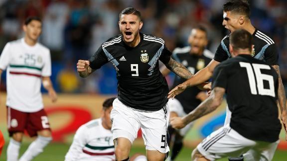 Icardi e Dybala marcam, e Argentina vence amistoso contra o México https://t.co/xfI1VxK6KL