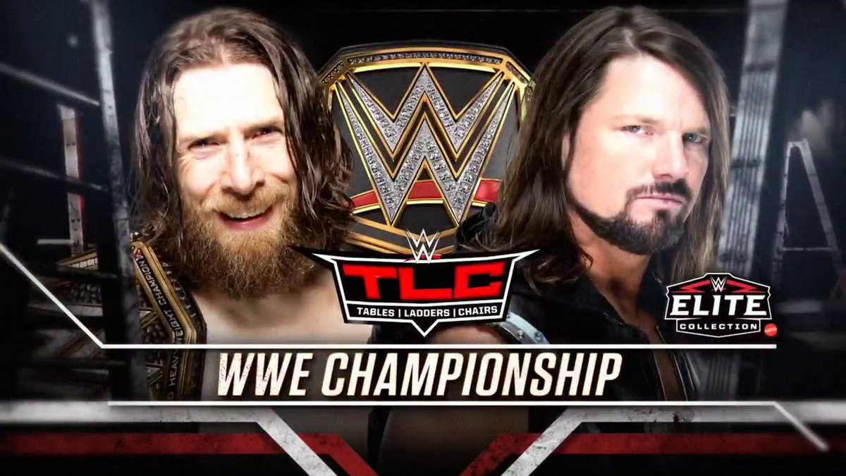 Daniel Bryan Vs. AJ Styles WWE Championship Match Announced For TLC, Updated Card