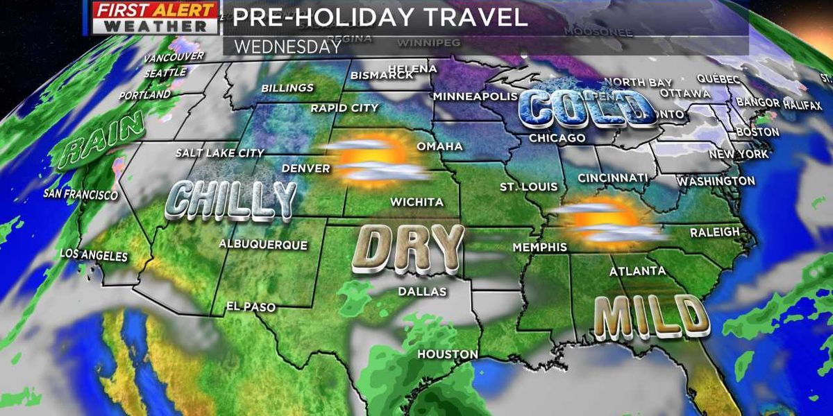 Your First Alert Forecast for holiday travel #wmc5 >>https://t.co/hitILLaYw2