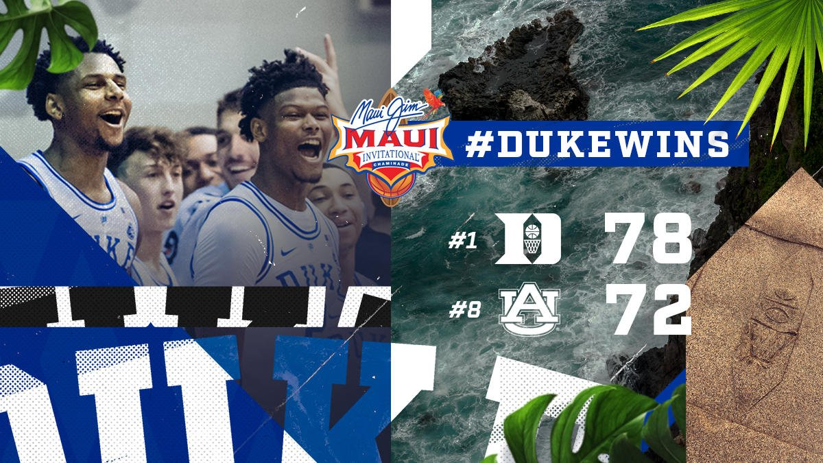 Duke Basketball's photo on Maui