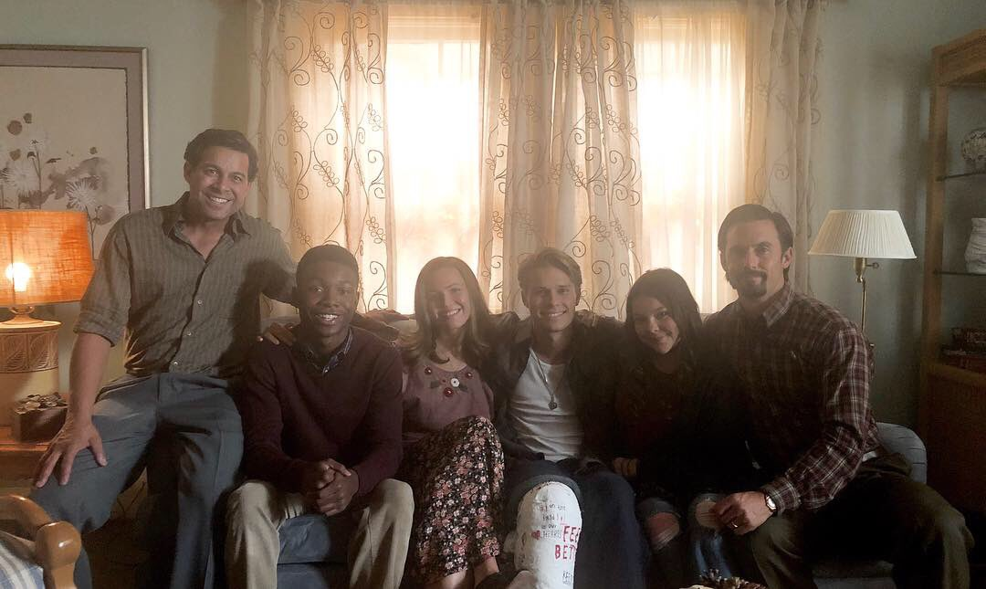 Once all strangers & now truly a family. I love my Pearson fam & the message Randall shares. Strangers can be your most impactful people. Acquaintances can be your most impactful people. Family can be your most impactful people. Happy Thanksgiving to you & yours!❤️ #ThisIsUs