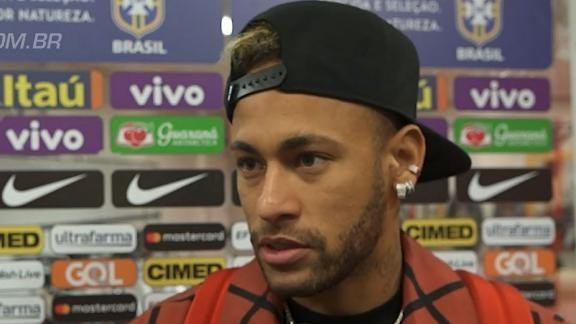 Neymar diz que Copa 'machucou o coração', mas aprova ano da seleção brasileira https://t.co/tTZ4tP2VoW