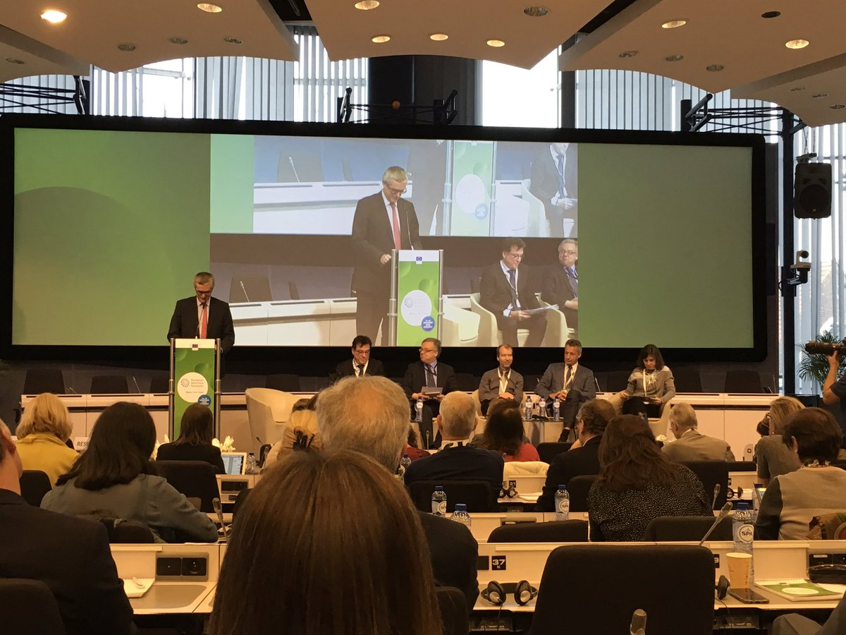 Mr. Andrzej Rys Director Directorate B Health System Medical Product and Innovation #DGSANTE at the #ERNEu: #ERNs as start ups need investors and they are not a project but a system. We need to be committed for the challanges