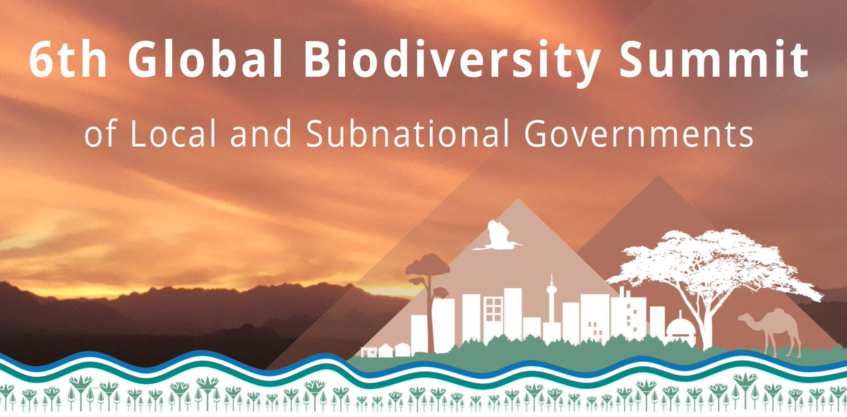 Are you coming to the #6thBiodiversitySummit at #COP14? We look forward to seeing you in #Egypt soon!   Download the latest program to see our impressive, diverse range of speakers: https://t.co/8cUO2sqT7q