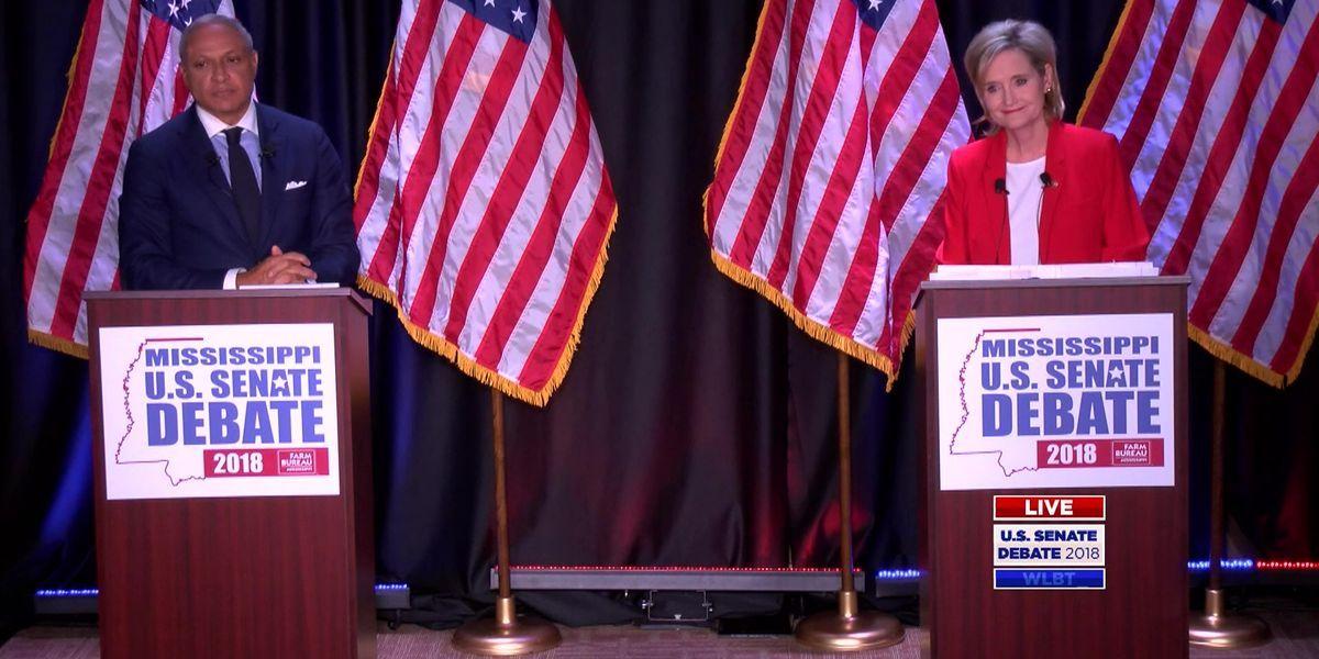 Mike Espy, Cindy Hyde-Smith debate Tuesday night for U.S. Senate seat #wmc5 >>https://t.co/810VfxIhHi