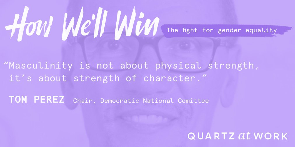 DNC chair @TomPerez suggests toxic masculinity is not a partisan issue #HowWellWin https://t.co/VjB0lWkMpo