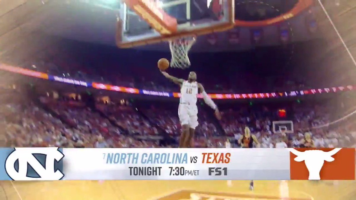 Enjoy your Thanksgiving turkey with a side of BIG. TIME. HOOPS.  @UNC_Basketball vs @TexasMBB and @UCLAMBB vs @MSU_Basketball clash at the Las Vegas Invitational on FS1.