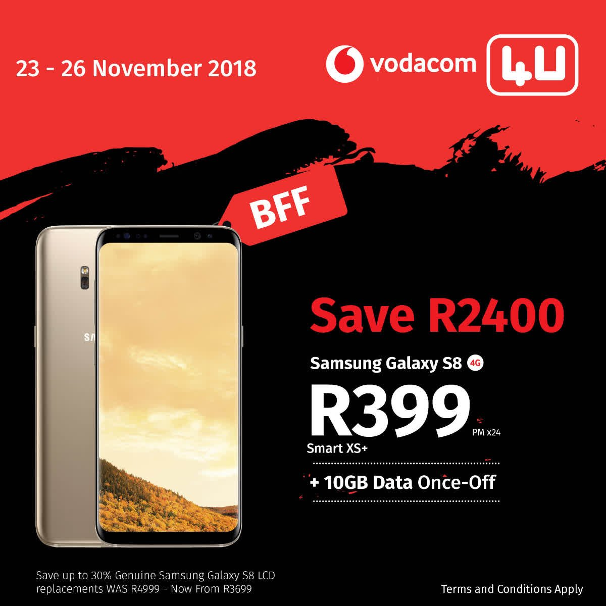 Vodacom 4u On Twitter B L A C K F E S T I V A L F R I D A Y Black Friday Your Best Friend Us Too It S Going To Be A Festival Bff Specials 4 U Valid This Weekend Only Bff Connected Https T Co Gy7qielhod