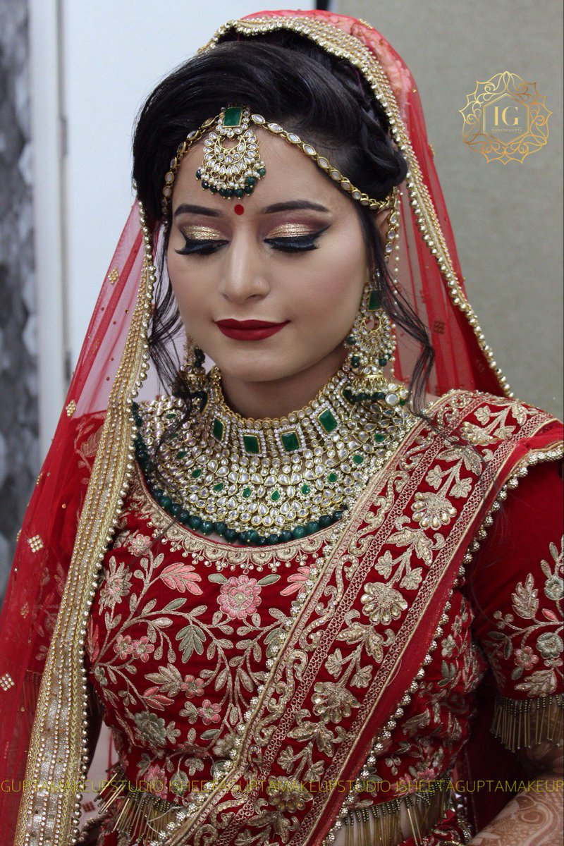 ... work Best Makeup Artist: https://www.shaadidukaan.com/delhi /beauty-grooming/make-up-artist … #indianwedding #indianbride #daywedding #bride #wedding ...