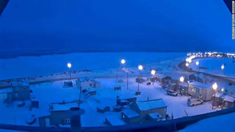 Imagine not seeing the sun for two months. This Alaskan town is beginning a 65-day period of darkness, known as polar night https://t.co/PrdExFqfU1