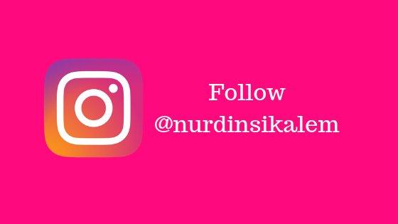 follow @nurdinsikalem