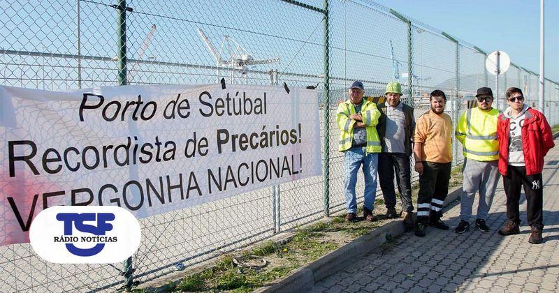 Governo junta-se às reivindicações dos estivadores do Porto de Setúbal https://t.co/HjX5n8vxhS Em https://t.co/MDmhqgtnSp