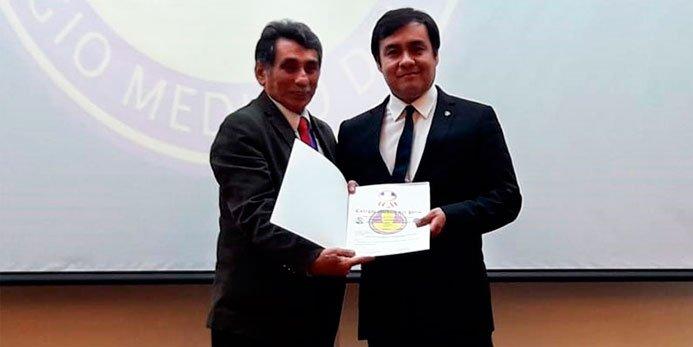 Investigadores USIL fueron premiados por el Colegio Médico del Perú