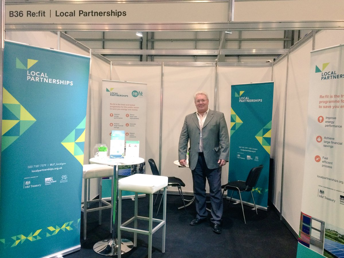 We're ready @EMEXLONDON #EMEX 💡⚡️swing by stand B36 to say hello to Rachel and Rob #Refit #energyefficiency