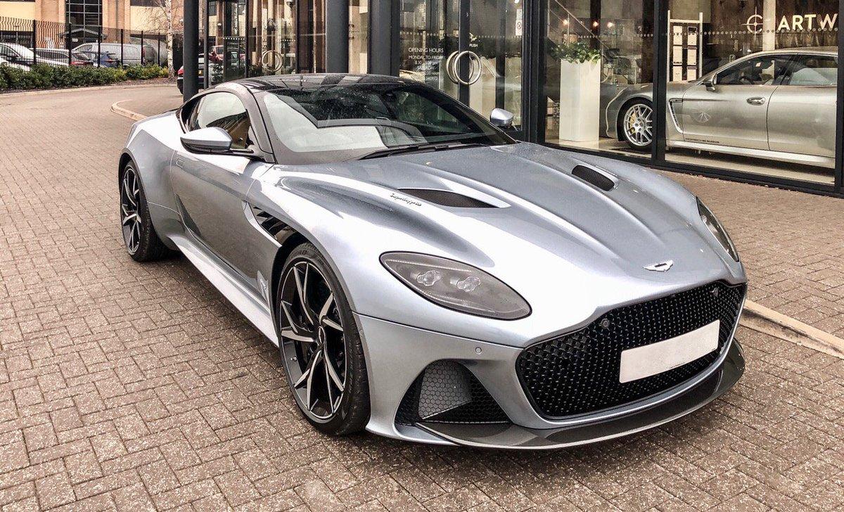 Aston Martin Dbs Superleggera Skyfall Silver Supercars Gallery