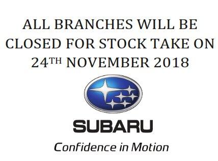 Subaru Kenya On Twitter All Subaru Kenya Branches Will Be