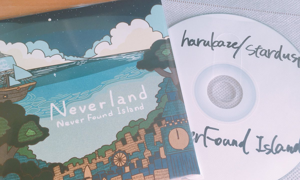 never found island on twitter 明日 レコ発 物販 1st