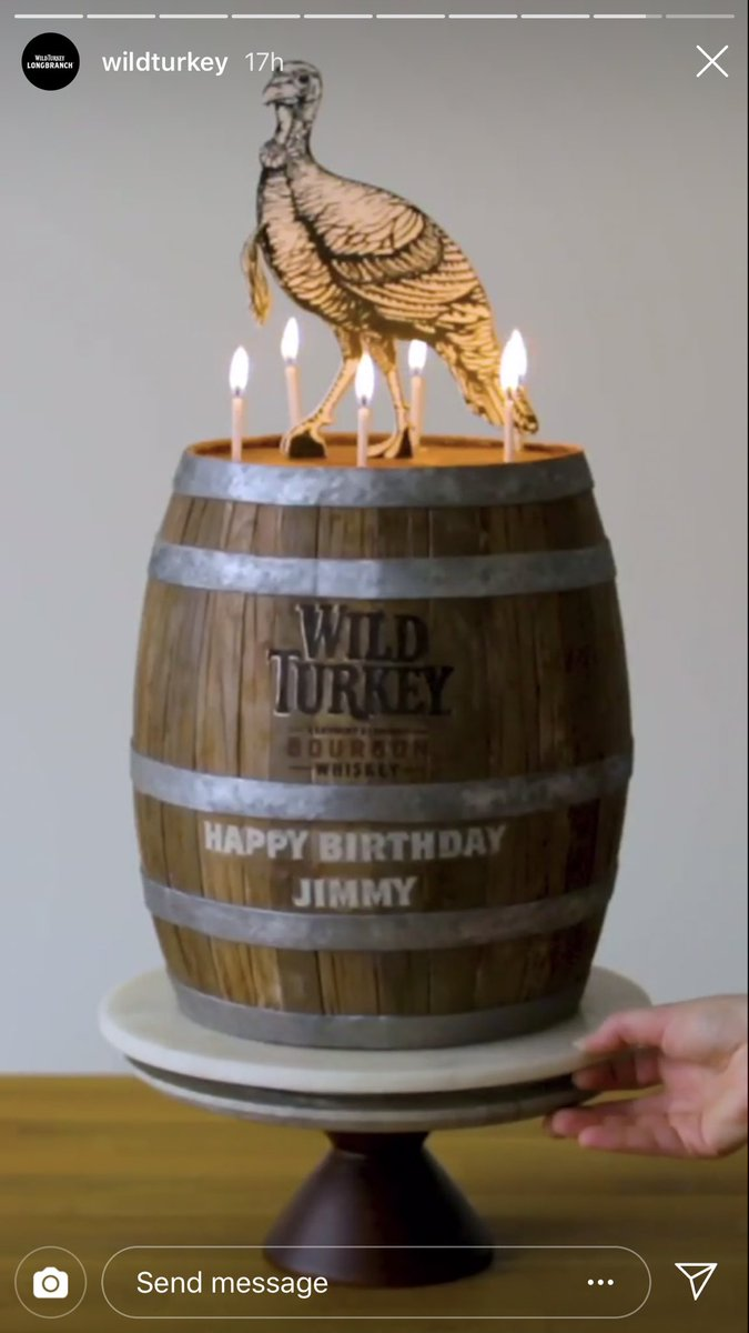 Astonishing J W Cannon On Twitter The Folks At Wildturkey Made An Amazing Funny Birthday Cards Online Unhofree Goldxyz