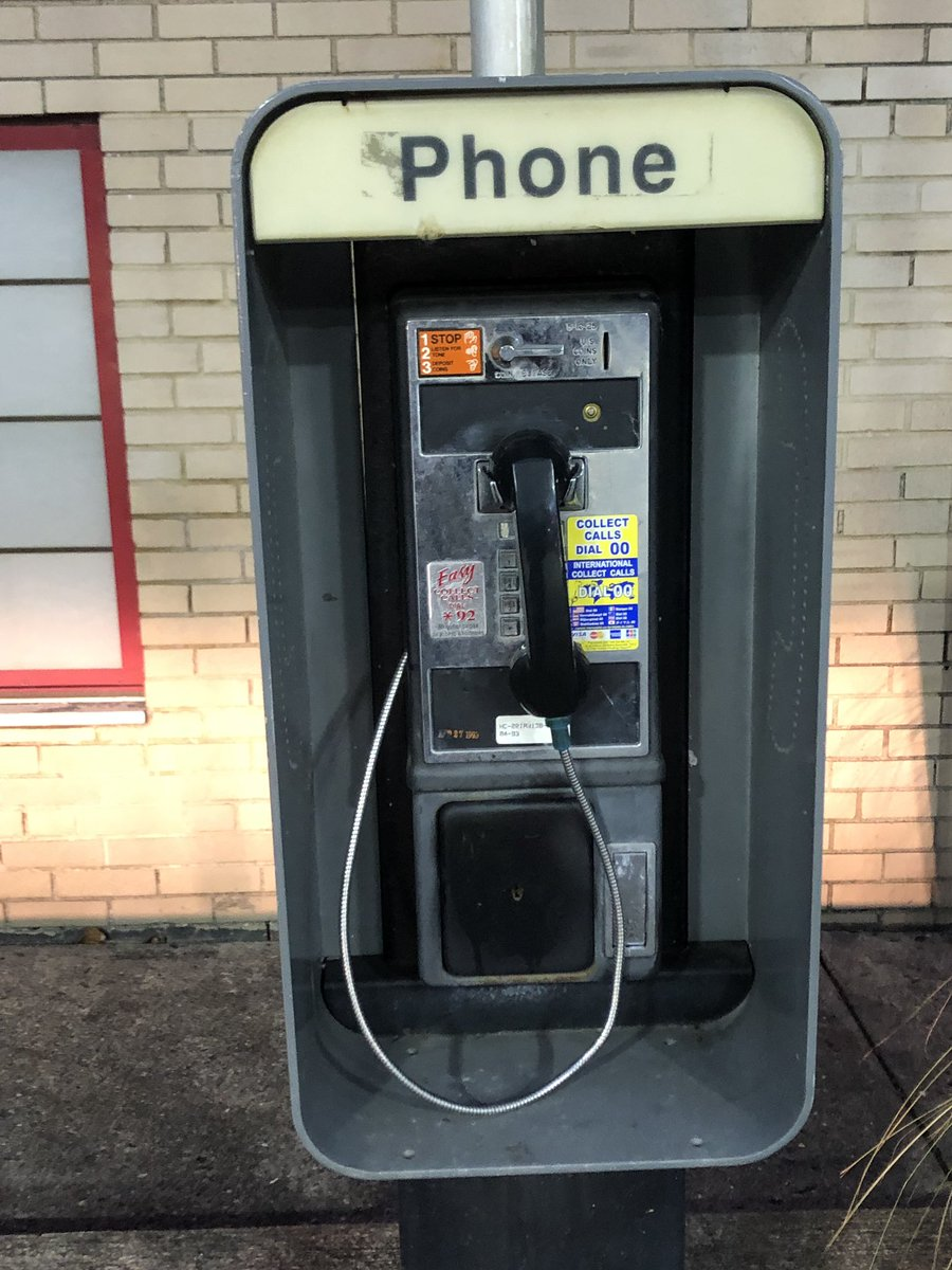 Mike Holden On Twitter Good News You Can Still Make A Collect Call