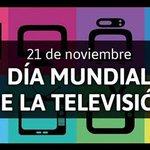 Día Mundial de la Televisión Twitter Photo