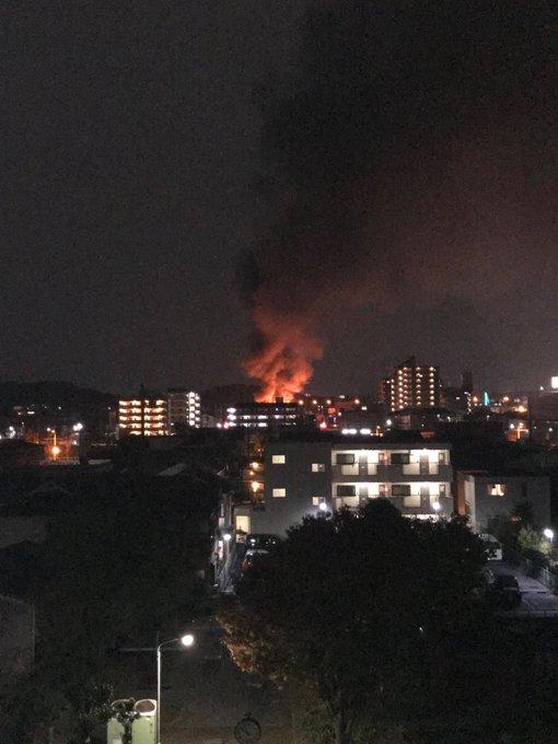 藤井寺市 火事