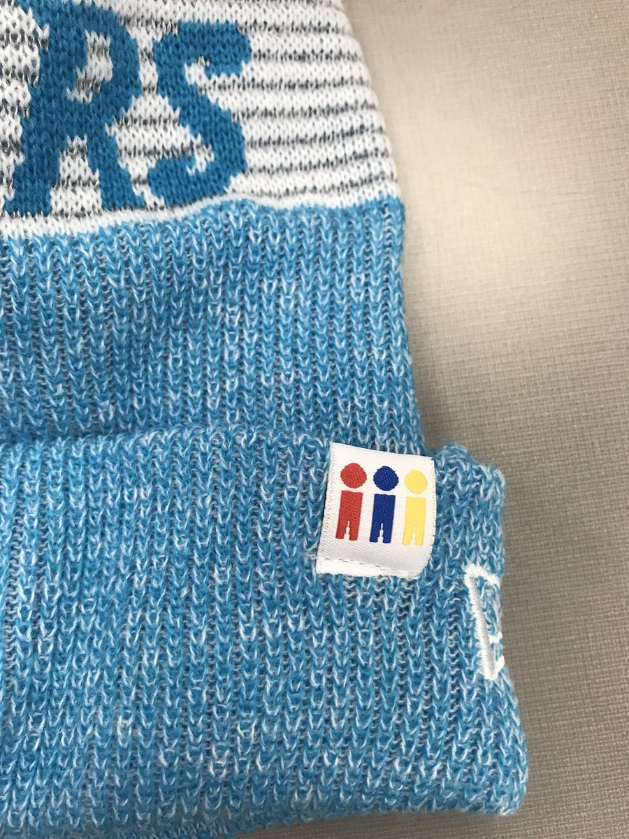 a3632b091 A look at the beanies Panthers tight end Greg Olsen handed out last week to Levine  Children s Hospital patients. They re for sale through the Panthers  ...