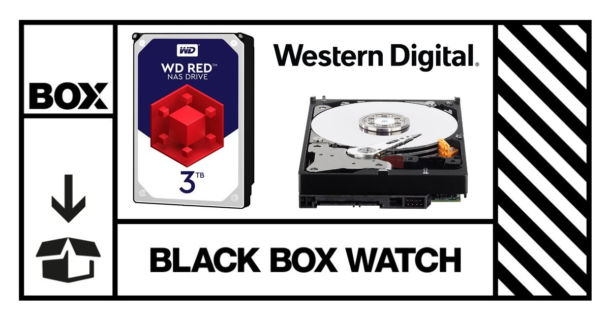 The @WD_UK 3TB Red 64MB 3.5IN SATA 6GB/S NAS Hard Drive will help fulfil your data storage needs.  It's just one of the amazing prizes in our Black Box finders keepers giveaway.  #BlackBoxWatch https://t.co/t0427qenRq
