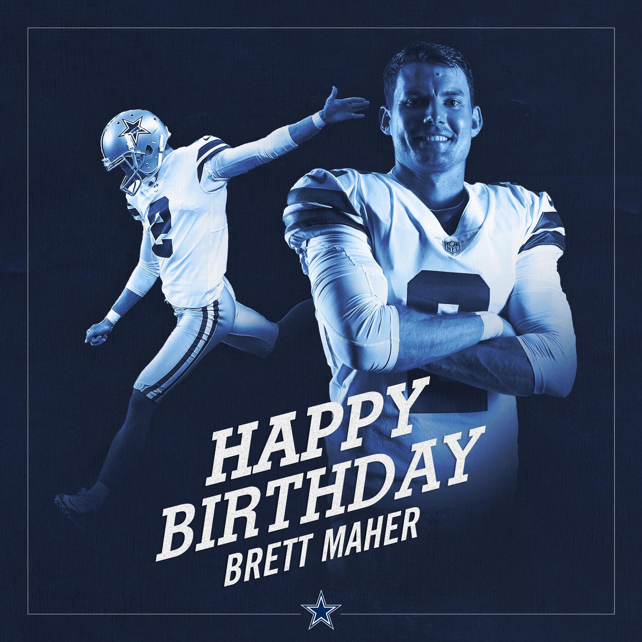 #CowboysNation, join us in wishing @brett_maher a happy birthday! https://t.co/NpQ4TLxTQu