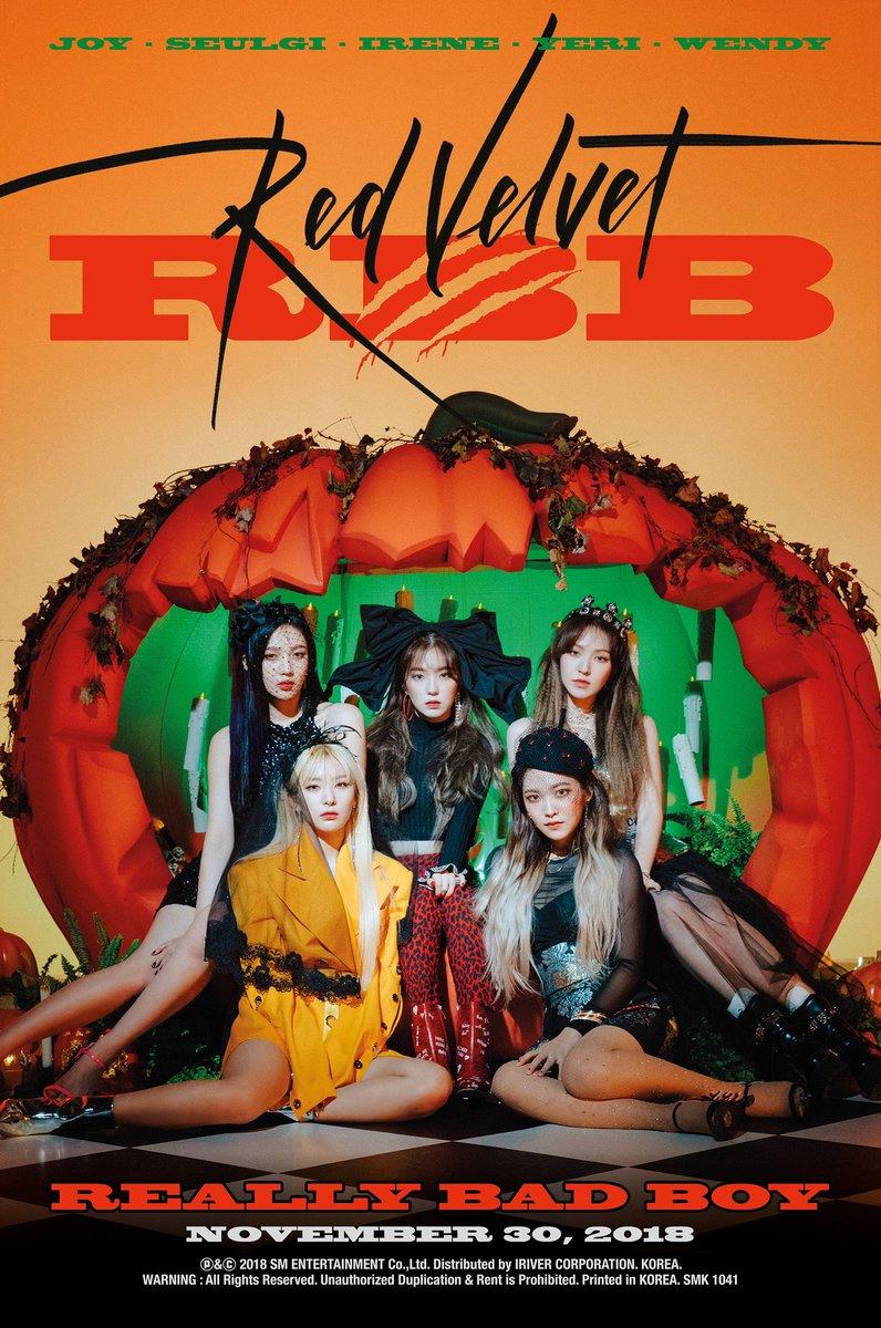 Red Velvet On Twitter Red Velvet 레드벨벳 The 5th Mini Album Rbb Really Bad Boy 2018 11 30 6pm Kst Https T Co Qonojfgi1g 레드벨벳 Redvelvet Redvelvet Rbb Reallybadboy Https T Co Ad6rhrhcj0