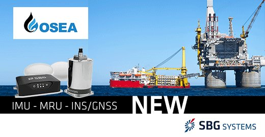 Visit us next week booth 1D3-09 in Singapore during OSEA. Our team will present you our new MRU and #Inertial Navigation Systems --> http://bit.ly/2zofw14    #OSEA2018