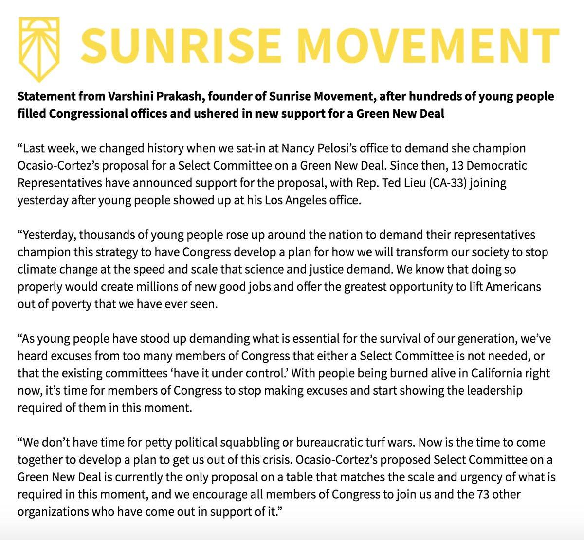 1af0ad9570b3 Sunrise Movement 🌅 on Twitter