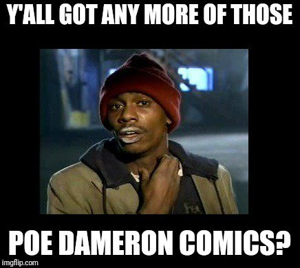 Wadek On Twitter Hey At Charlessoule Will There Be Any Poe Dameron