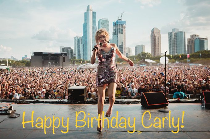 Happy Birthday, Carly Rae Jepsen!