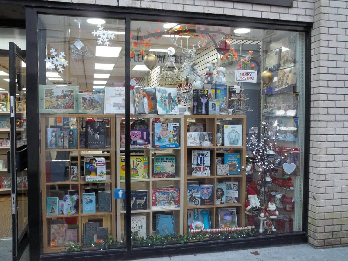 Our #window looking very #festive #bookshoplife #haverfordwest #Pembrokeshire