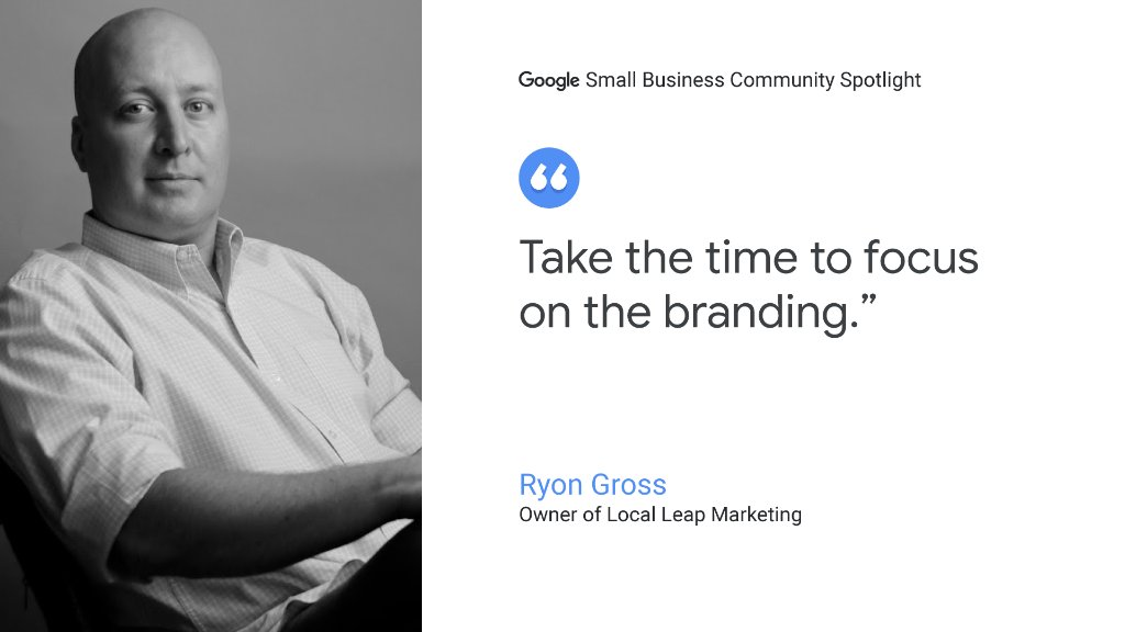 When planning your #smallbiz, Ryon Gross offers this 🗝 advice: brand matters. goo.gl/B16c9F