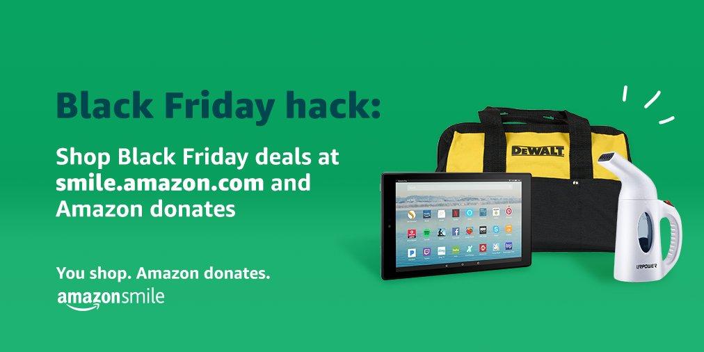 This Black Friday, score deals at smile.amazon.com/ch/20-3708530 and AmazonSmile donates to PGA REACH Carolinas Foundation! #REACHCarolinas #BlackFriday #foundation #GivingHOPE #carolinaspga