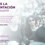 #VotaTuLista2019 Twitter Photo