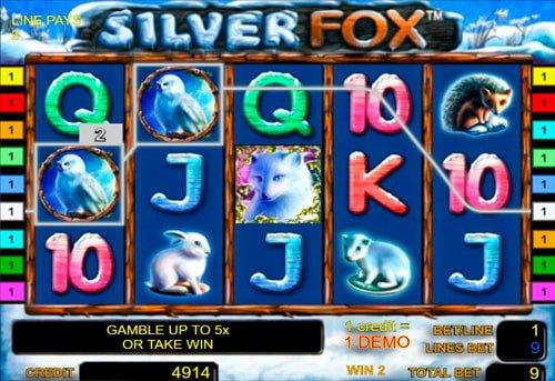 silver fox игровой автомат