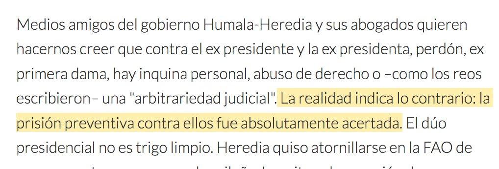 cuando Balbi escribe sobre Humala / cuando escribe sobre García