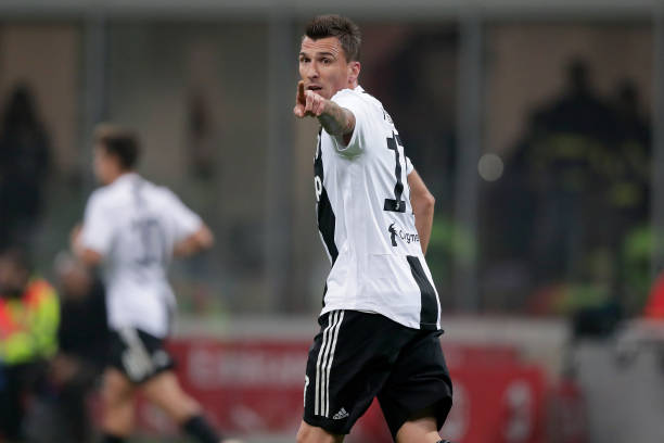 Mario Mandzukic. #Juventus