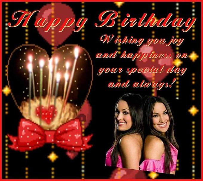 Happy Birthday Nikki and Brie Bella