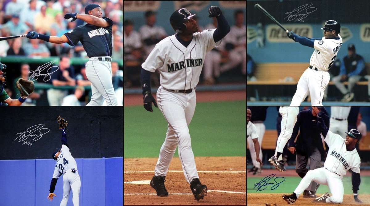 Happy birthday to Ken Griffey Jr. Today is definitely a backwards hat kind of day.
