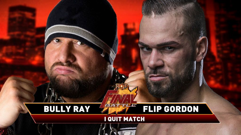 """I Quit"" Match Added To ROH Final Battle, Updated Card"