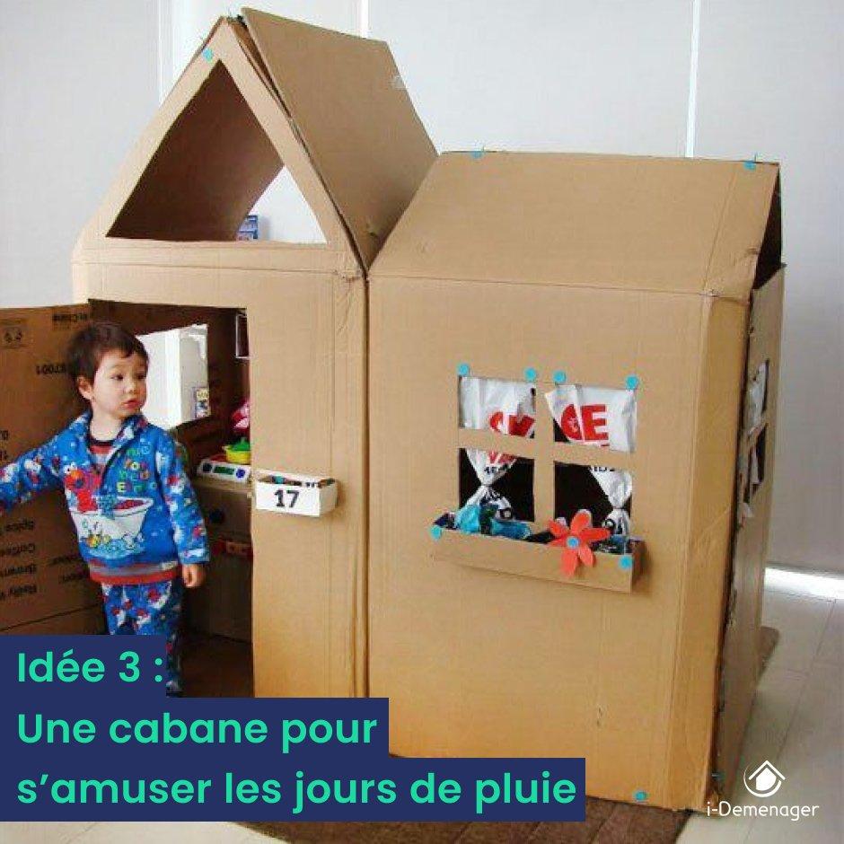 """Cabane En Carton Diy nextories on twitter: """"? offrez à vos enfants leur espace"""