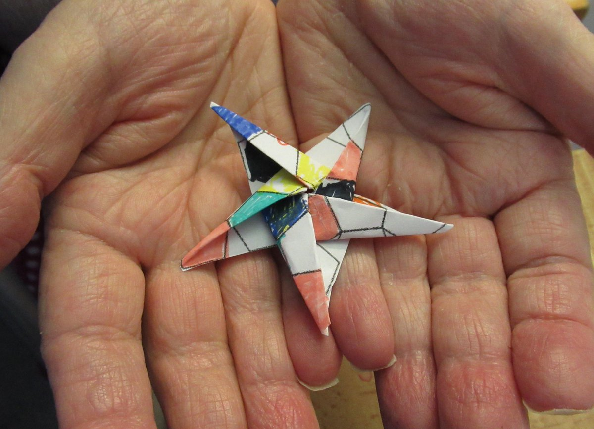 British Origami Soc Britishorigami Twitter Fireworks Diagram 1 Reply Retweet 6 Likes