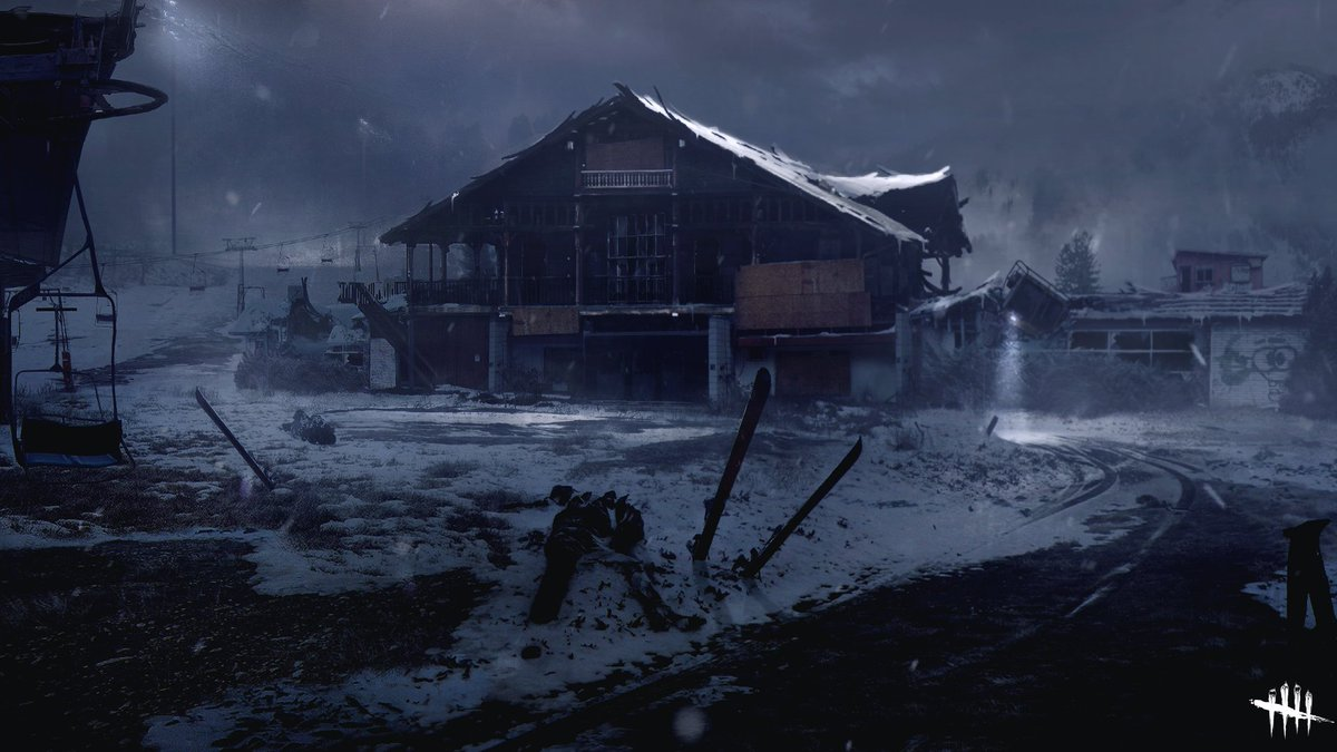 With snow comes darkness… #DeadbyDaylight