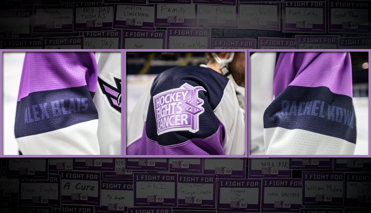 06800ababbb This Saturday the Thunderbirds will skate with Alex Blais and Rachel Kowal  to support Hockey s Fight against Cancer.  HockeyFightsCancer Join us for  Hockey ...