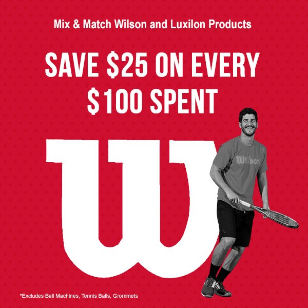 Tennis Express On Twitter Huge Sale From Wilsontennis Save 25