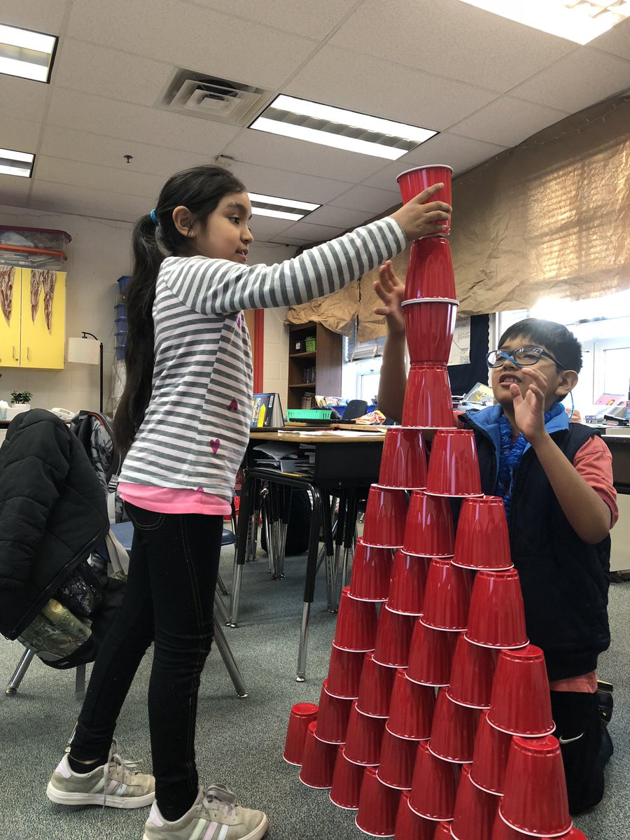 YES Club completes a building challenge- each partnership had 40 cups and 8 minutes to build the tallest tower! Many of them were taller than us! <a target='_blank' href='http://twitter.com/APS_ProjectYES'>@APS_ProjectYES</a> <a target='_blank' href='http://twitter.com/KWBTercero'>@KWBTercero</a> <a target='_blank' href='http://twitter.com/kwbhutcheson'>@kwbhutcheson</a> <a target='_blank' href='http://twitter.com/BarrettAPS'>@BarrettAPS</a> <a target='_blank' href='http://search.twitter.com/search?q=KWBPride'><a target='_blank' href='https://twitter.com/hashtag/KWBPride?src=hash'>#KWBPride</a></a> <a target='_blank' href='https://t.co/PVpPyoJSZJ'>https://t.co/PVpPyoJSZJ</a>
